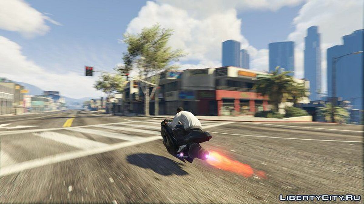 Motorbike Turbo Hoverbike [Add-On / Replace] for GTA 5