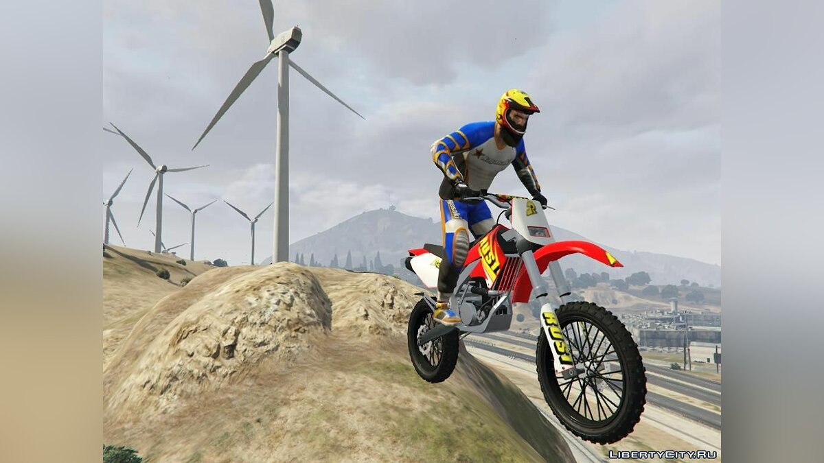 Motorbike RUSI KR150 (Replace Sanchez) 1.0 for GTA 5