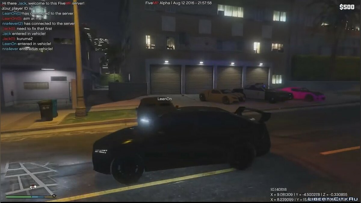 Client FiveMP 0.1b Stable for GTA 5