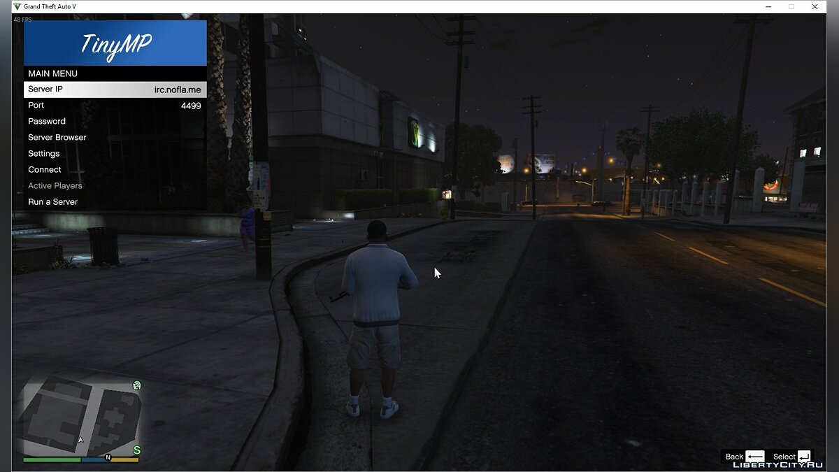 Client TinyMP v0.3.2 for GTA 5