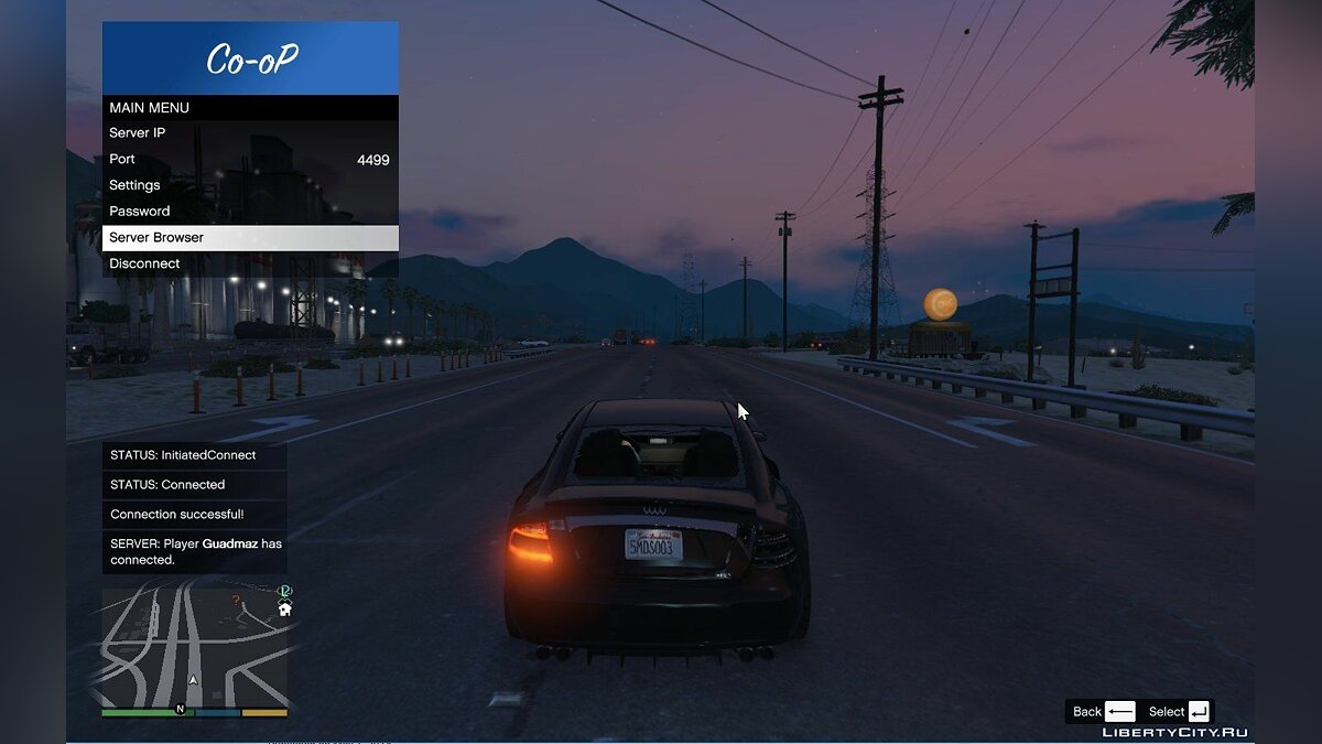Client Multiplayer Co-op for GTA 5