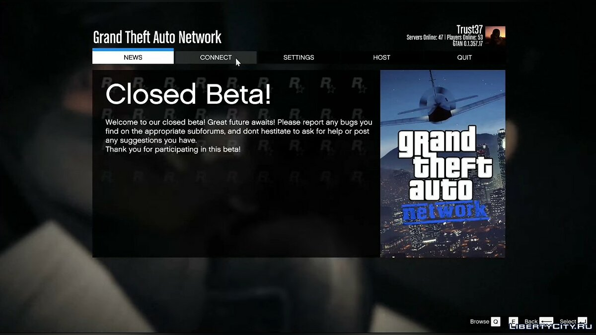 Client GTA: Network