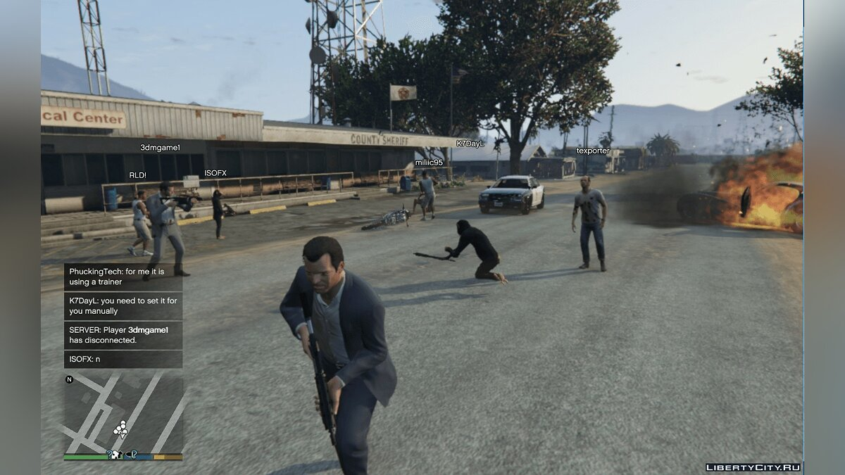 Client Multiplayer Co-Op 0.9 for GTA 5