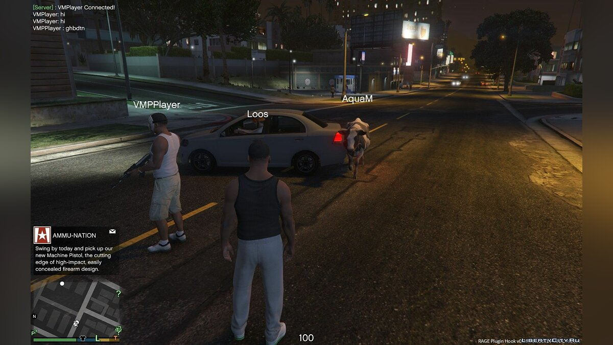 Client V-Multiplayer 1.0.4 for GTA 5