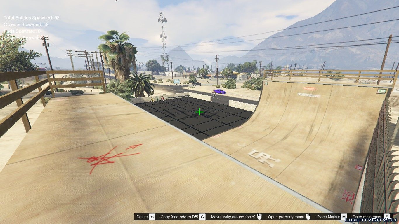 Skate Park East Joshua For Gta 5
