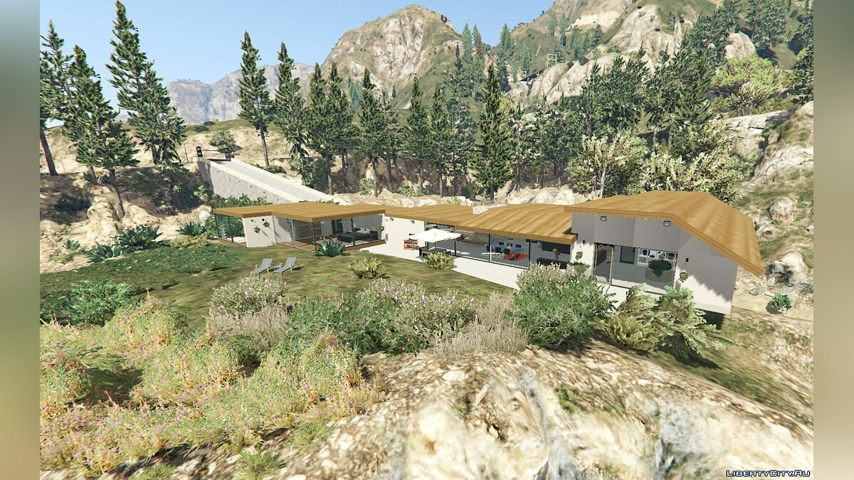 New object New house in the Alamo area for GTA 5
