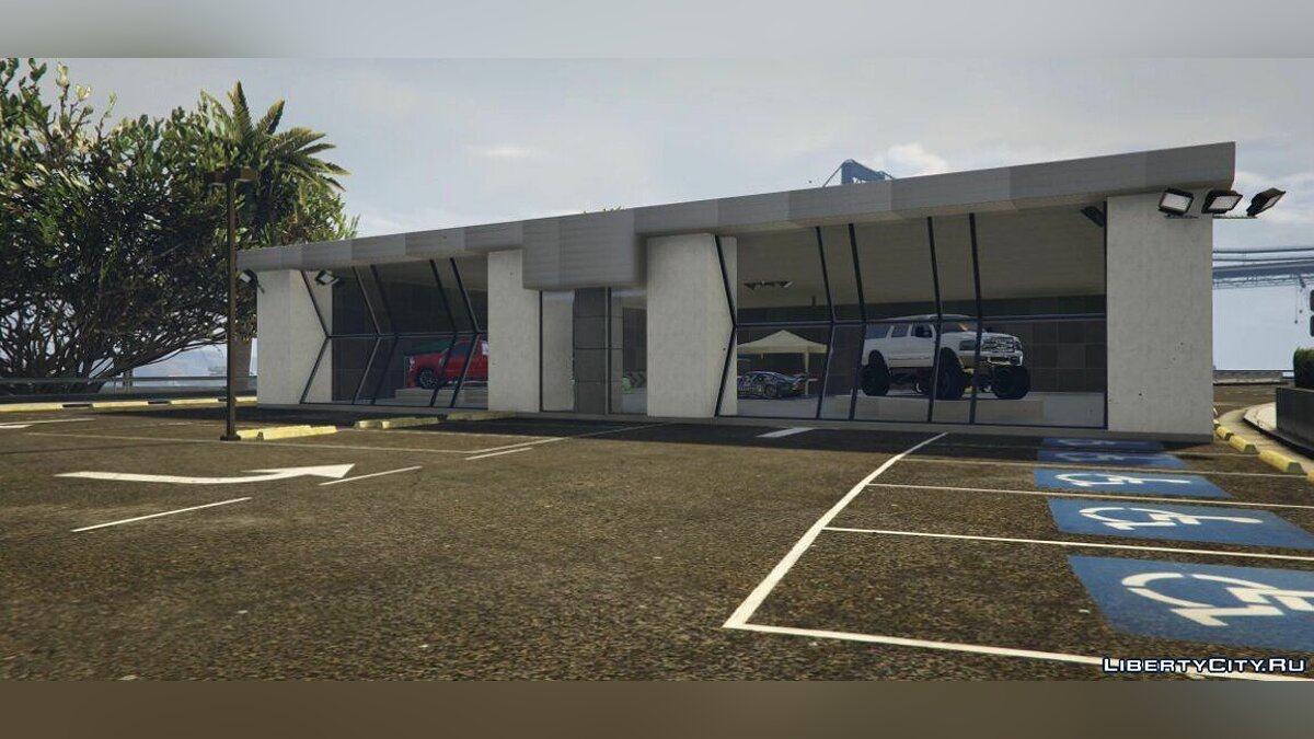 New object SEMA Show [Map Builder] for GTA 5