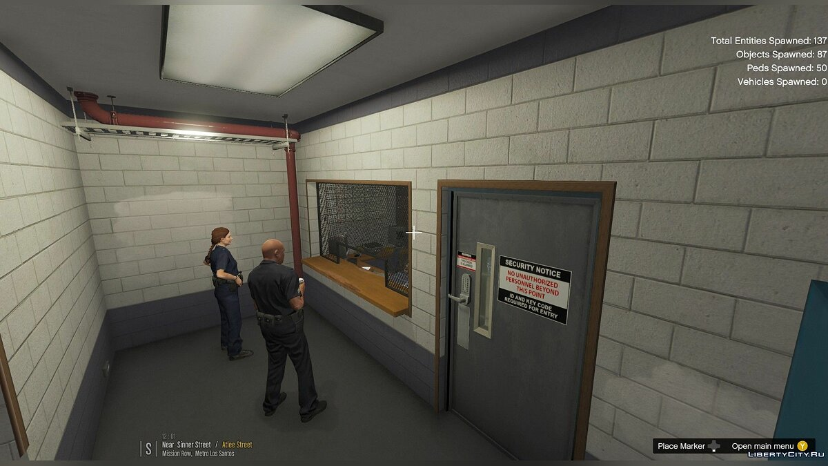 New object Improved Police Station 1.7.0 for GTA 5