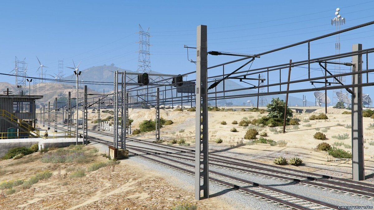 New object Los Santos Electric Railway [Replace] for GTA 5