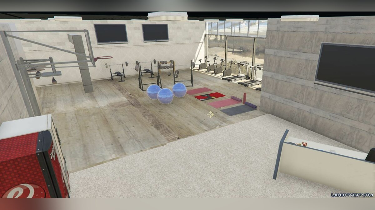 New object Sandy Shore Gym for GTA 5