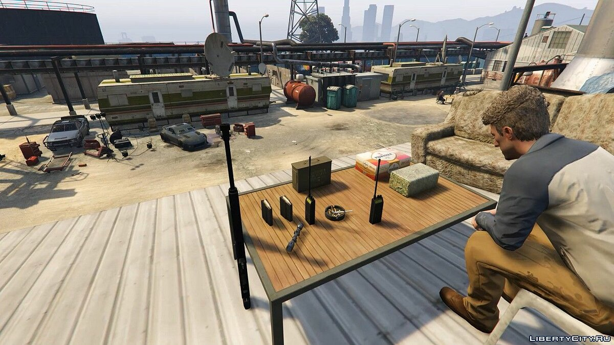 New object Fort to protect against zombies for GTA 5