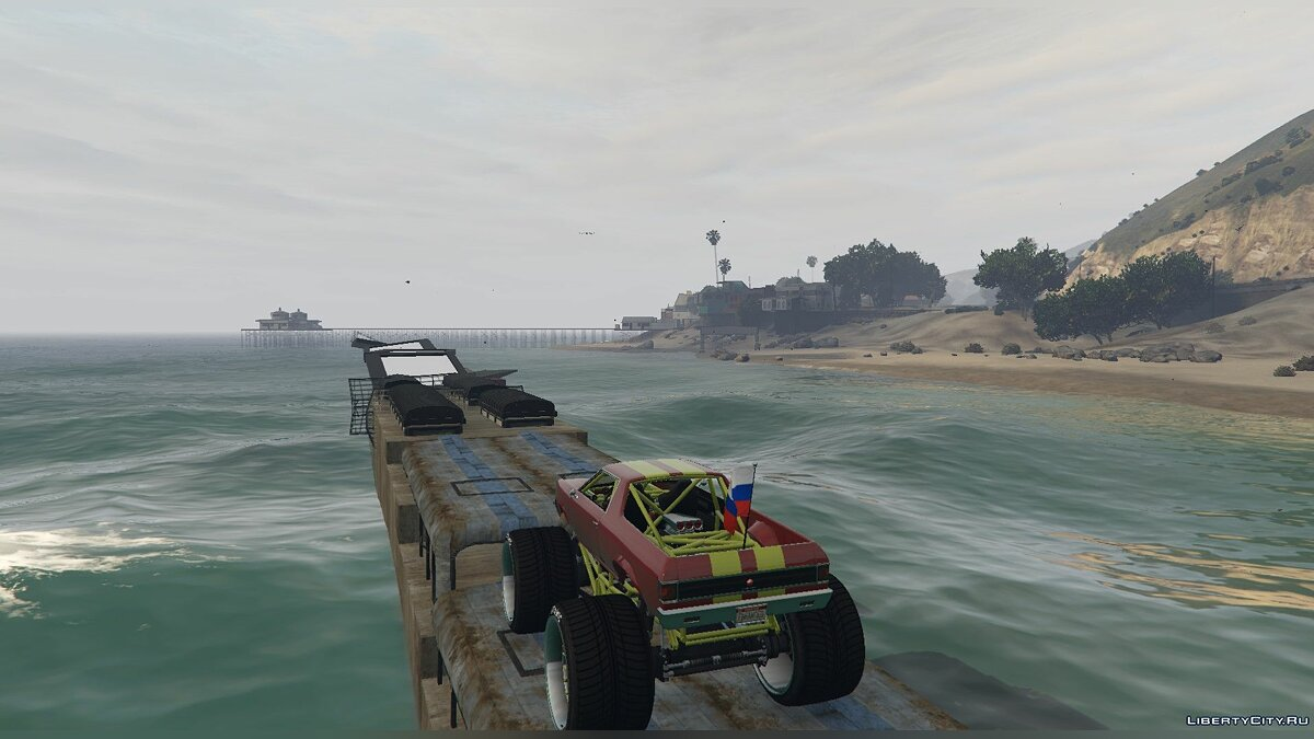 New object Parkour Track for The Liberator for GTA 5