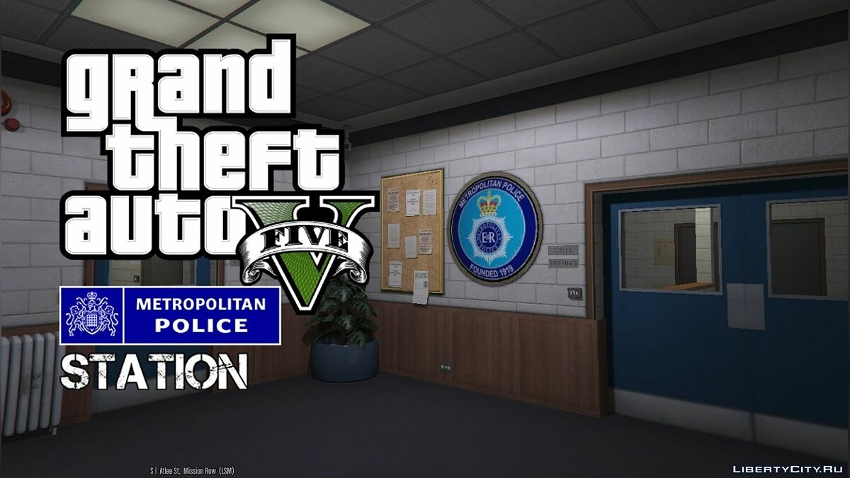 New object Metropolitan Police Station ALPHA 0.2 for GTA 5