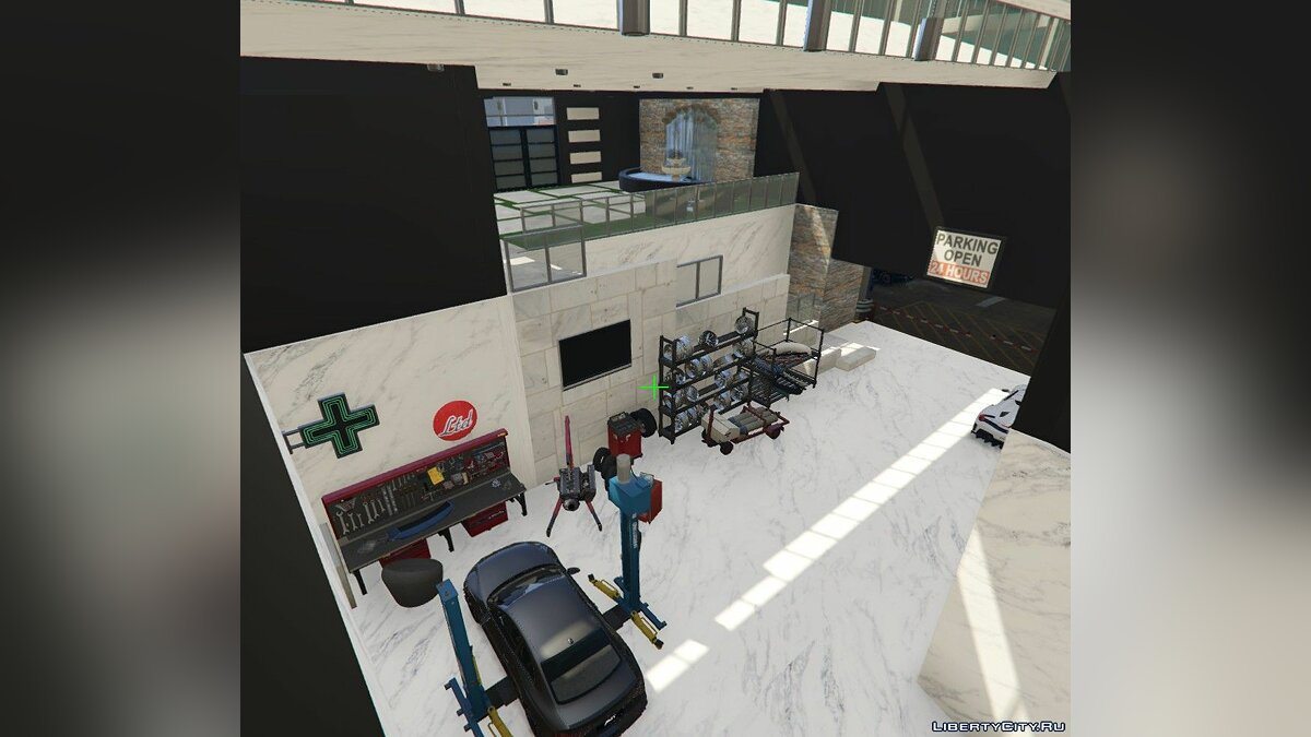New object Three-storey house with parking for GTA 5