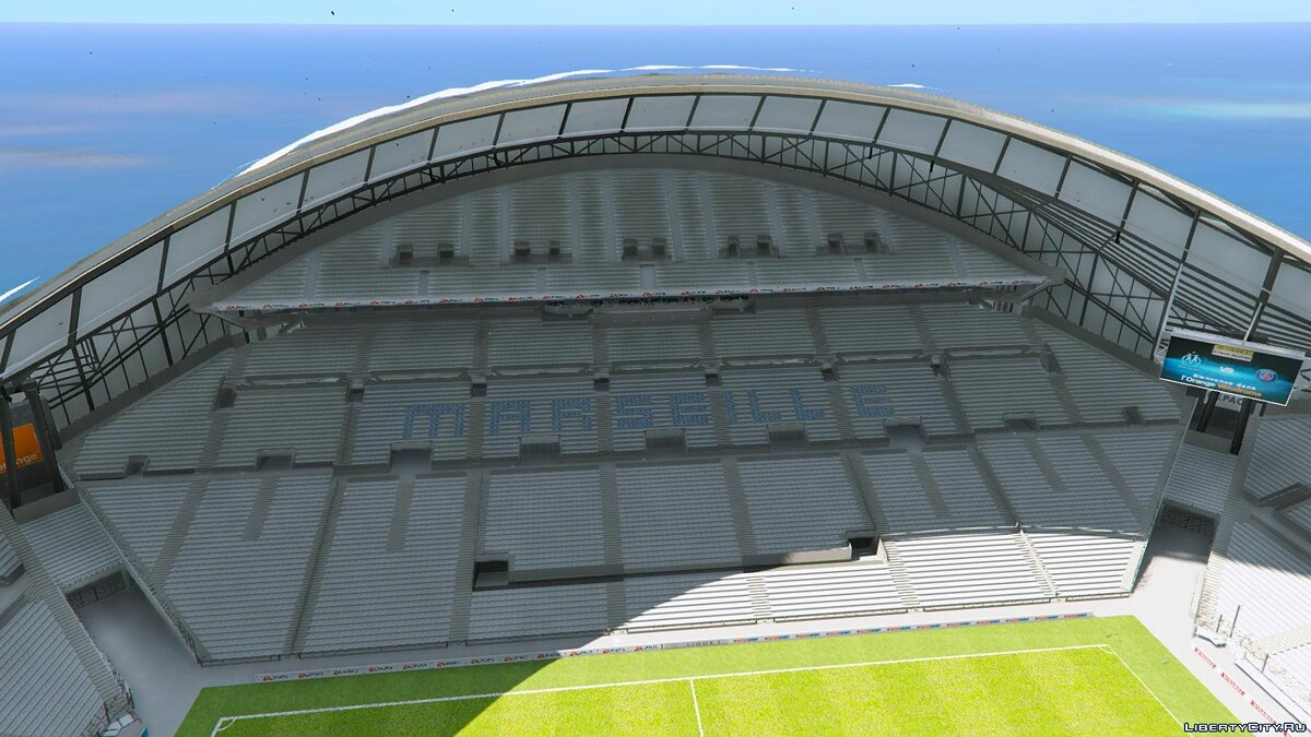 New object Stade Orange Vélodrome Marseille (Soccer Stadium) 1.0 for GTA 5
