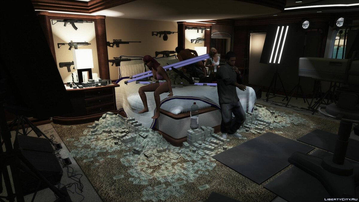 New object Party on the yacht [Menyoo] 1.0 for GTA 5
