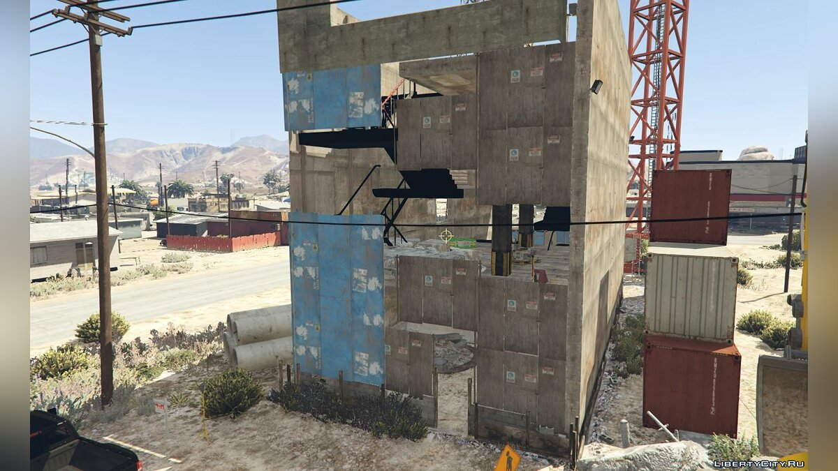 New object Sandy Shores Construction Site for GTA 5