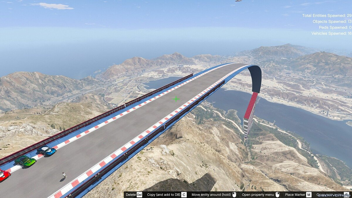 New object Ramp in the mountains for GTA 5