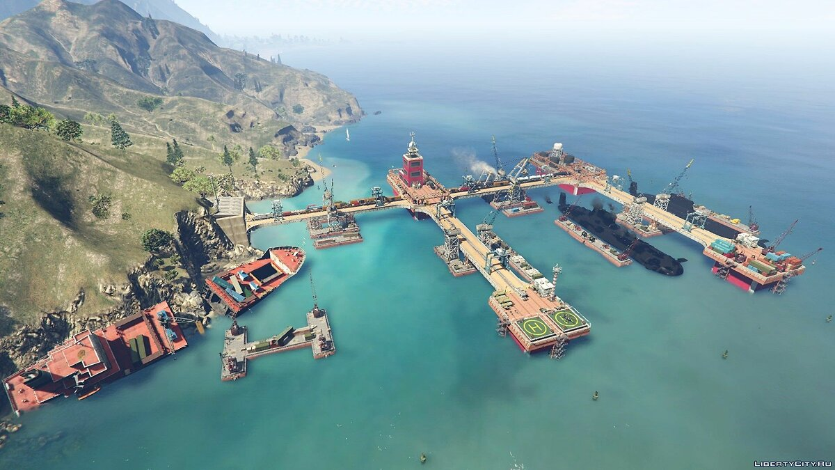 New object Military naval base for GTA 5