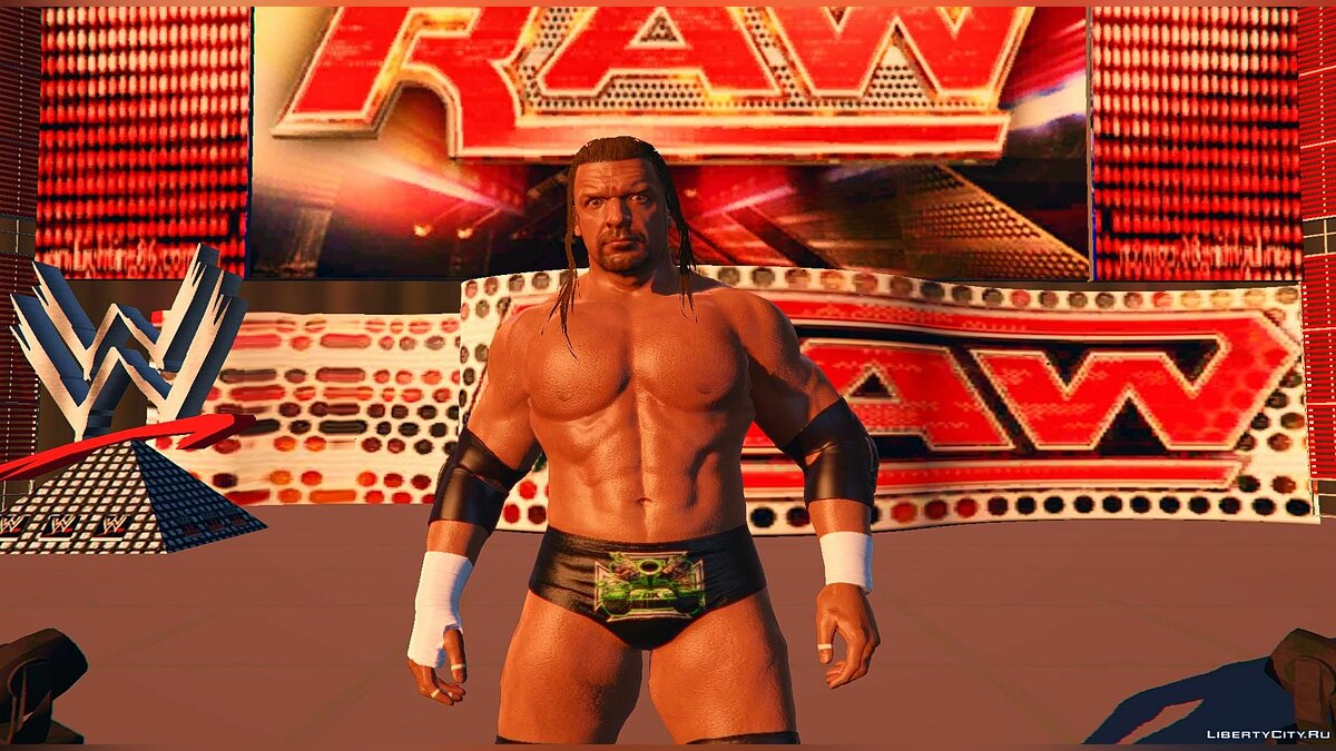New object WWE RAW [Arena] from the game WWE2k17 1.0 for GTA 5