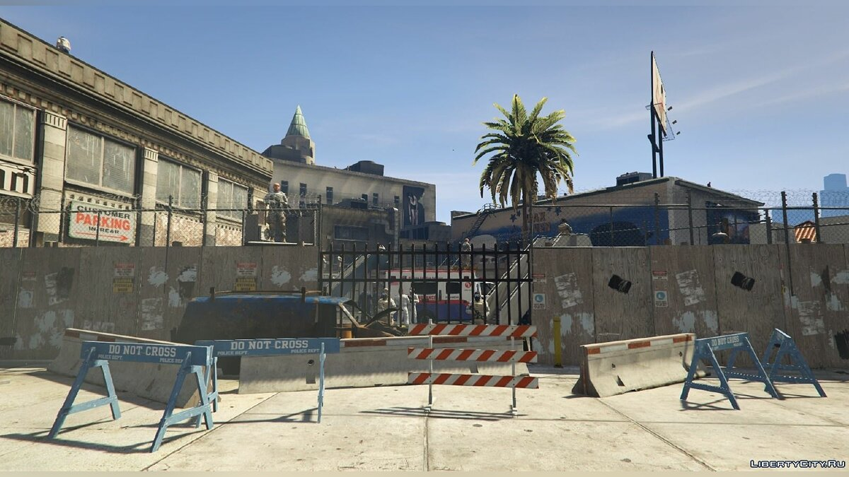 New object Vinewood Survival Base [Final Resistance Base] 0.1 for GTA 5