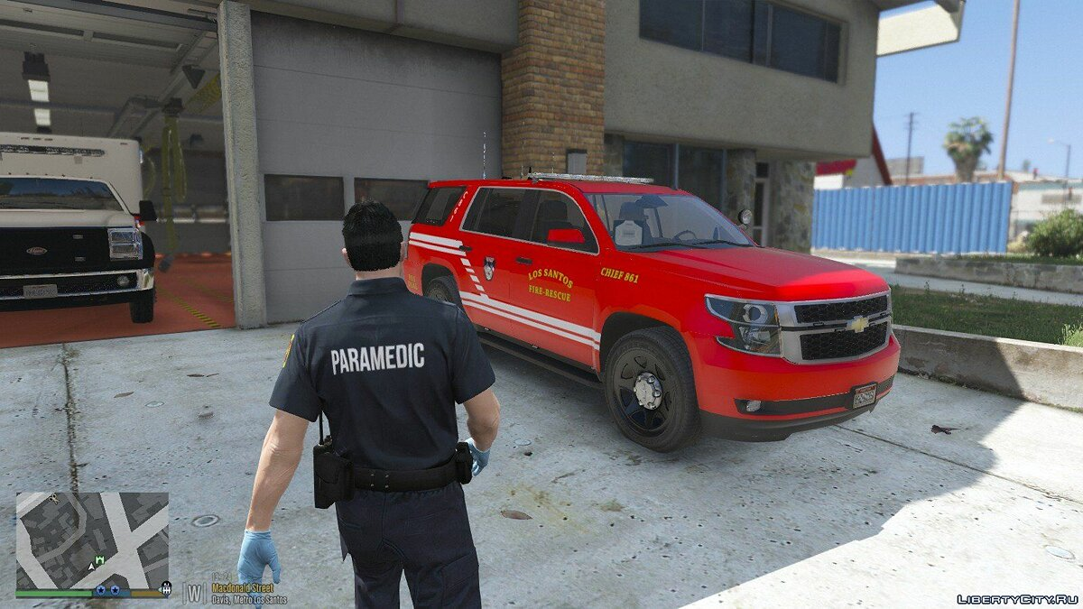 New object Fire Department 1.0 for GTA 5