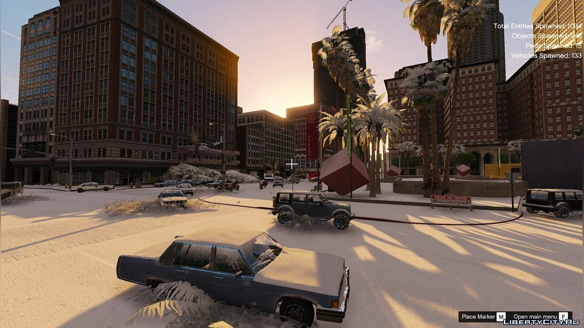New object Winter zombie card for GTA 5