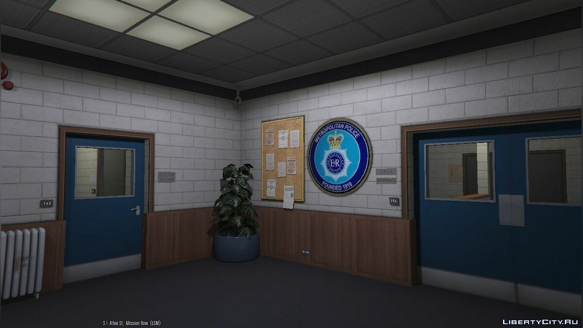 New object Metropolitan Police Station ALPHA 0.1 for GTA 5