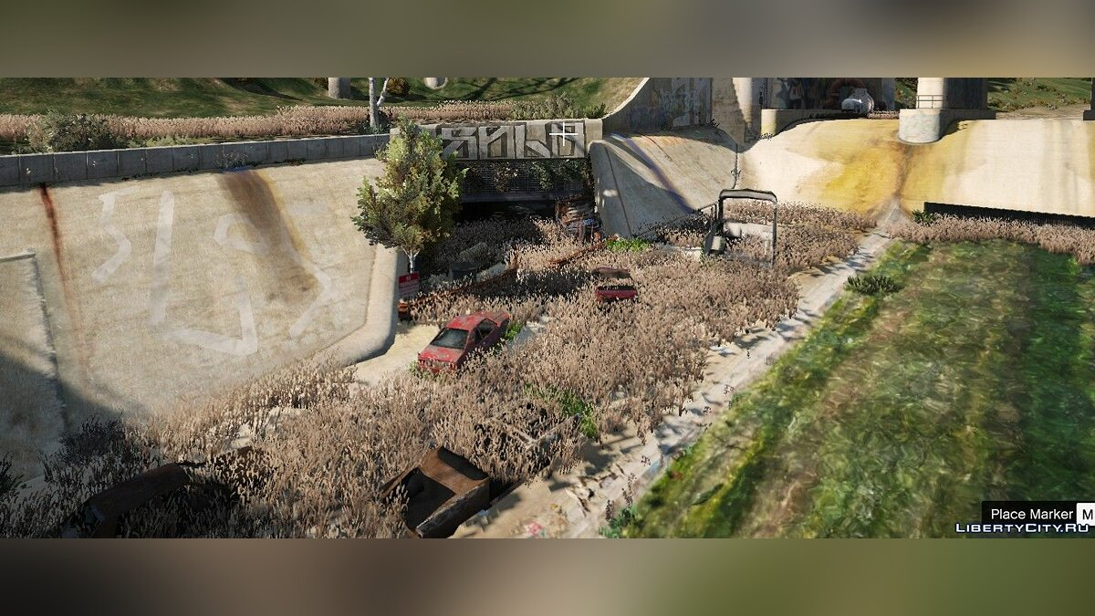New object Base in the waste channel for GTA 5