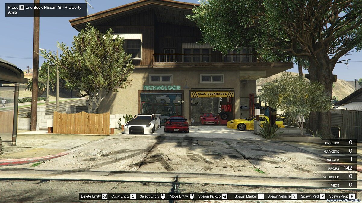 New object Japanese-style garage for GTA 5
