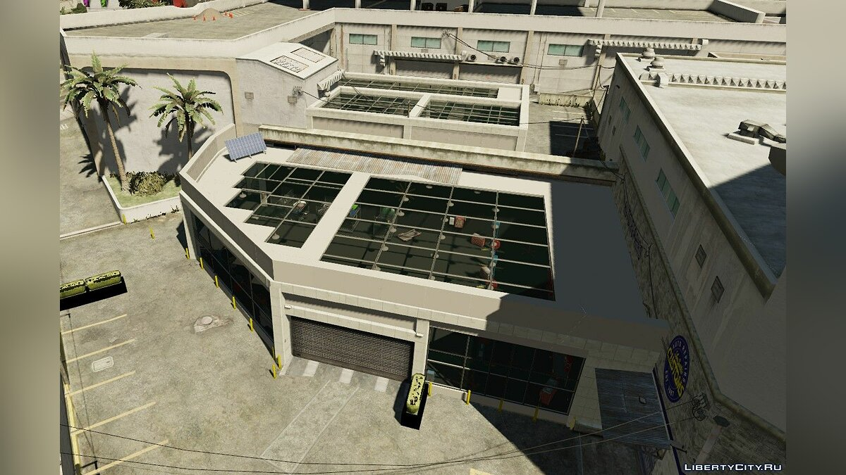 Central workshop LSC for GTA 5 - Картинка #2