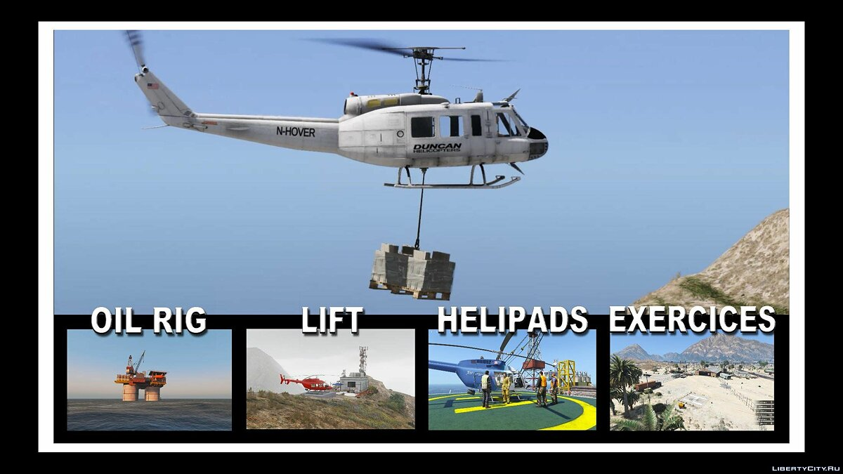 New object Maps for Helicopters 1.0 for GTA 5