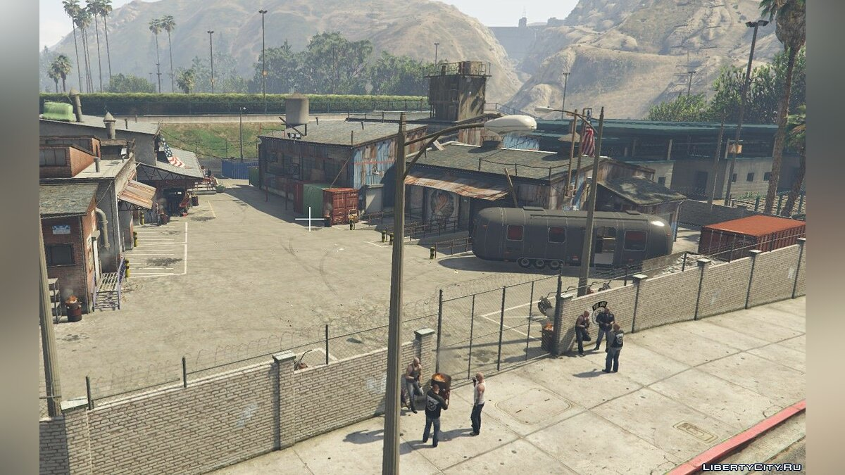 New object Мотоклуб Lost for GTA 5