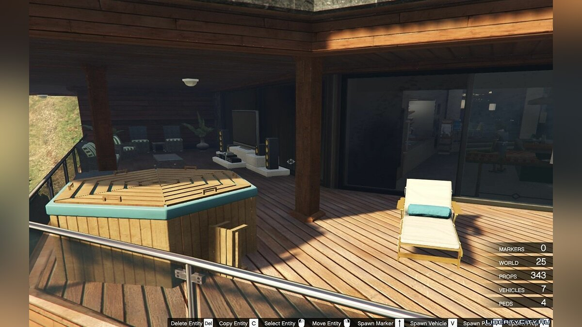 New object A True Boss Hollywood Mansion (Franklin safehouse) 3.0 for GTA 5