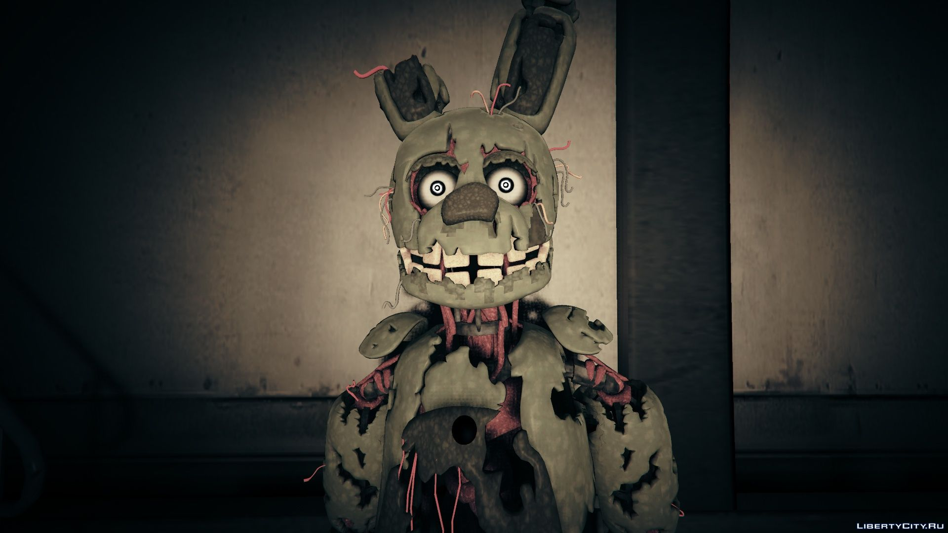 FNAF 3) Springtrap 1 0 - A Springtrap from Five Nights at
