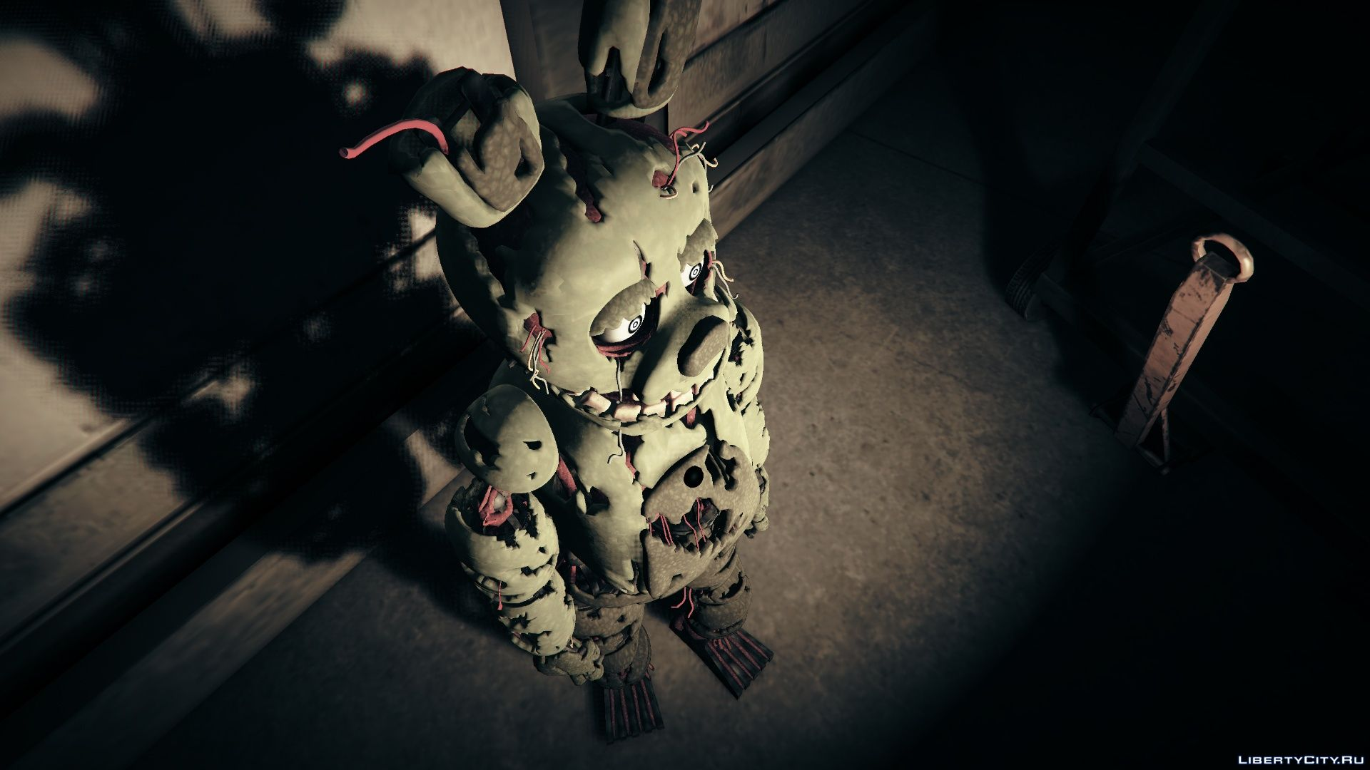 Fnaf 3 Springtrap 1 0 A Springtrap From Five Nights At Freddy S