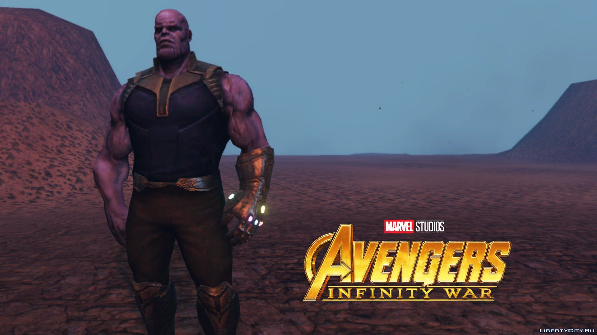 Thanos (Avengers Infinity War) [Add-On Ped] 1 1 for GTA 5