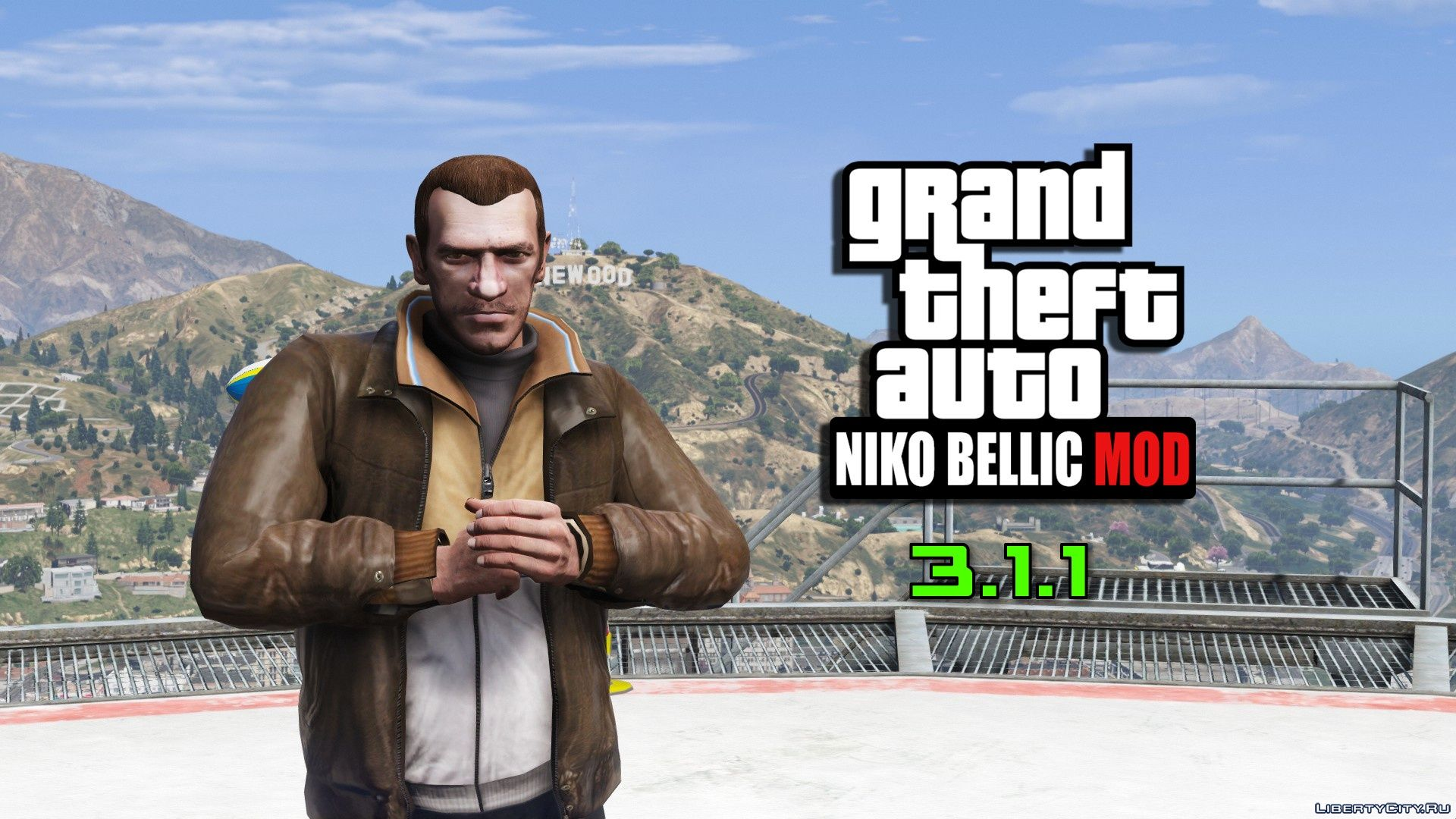 Niko Bellic 3 1 1 For Gta 5