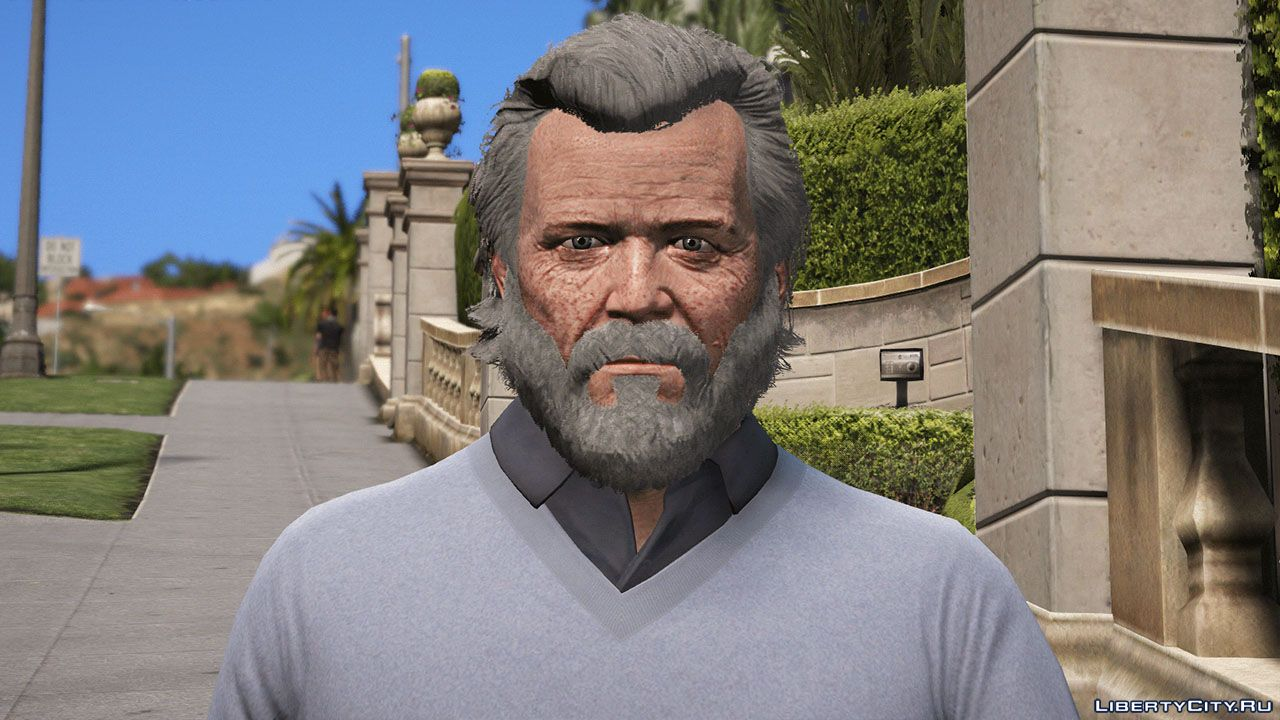 Old Badass Michael De Santa for GTA 5