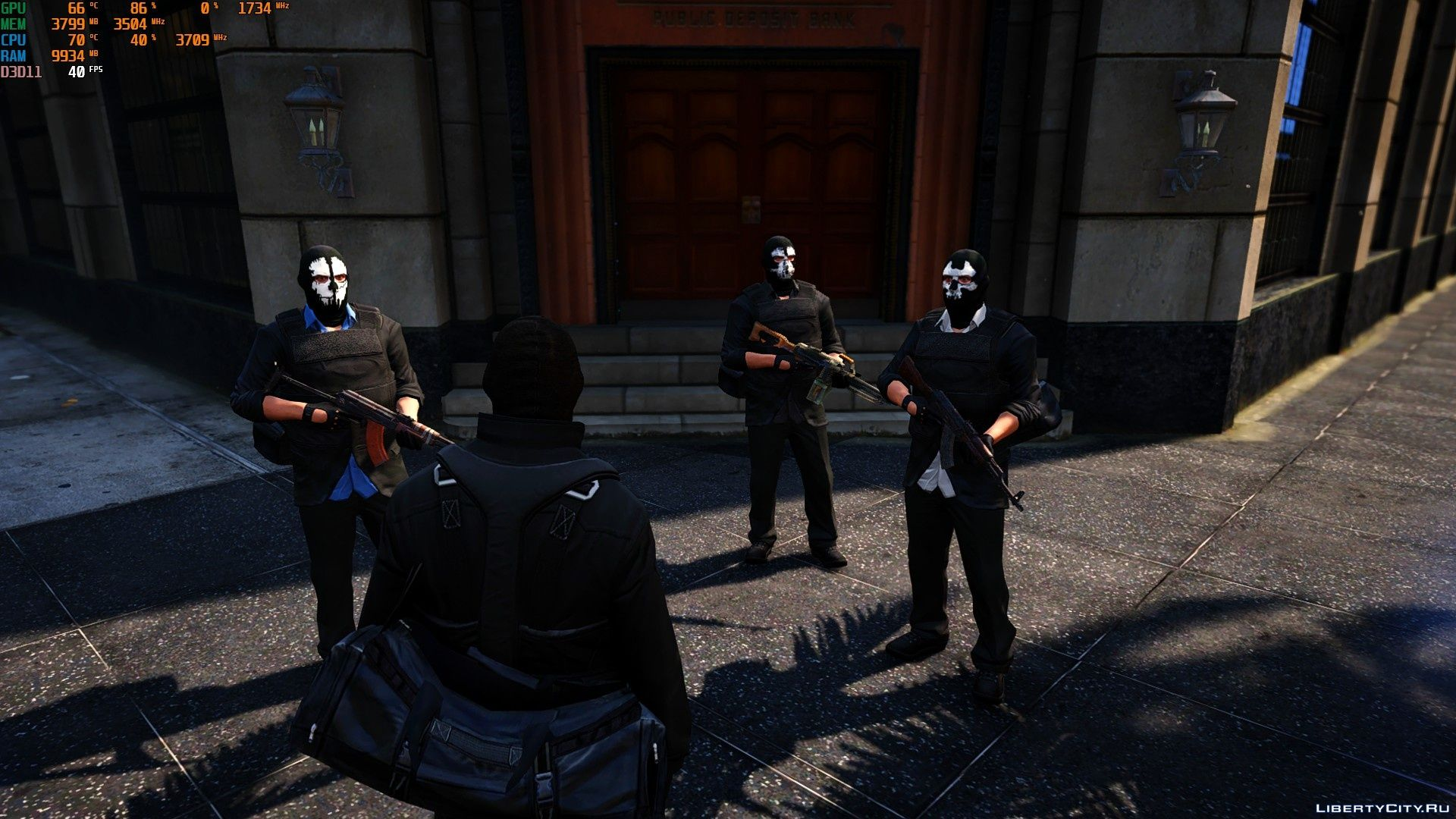Robbers for GTA 5 for GTA 5