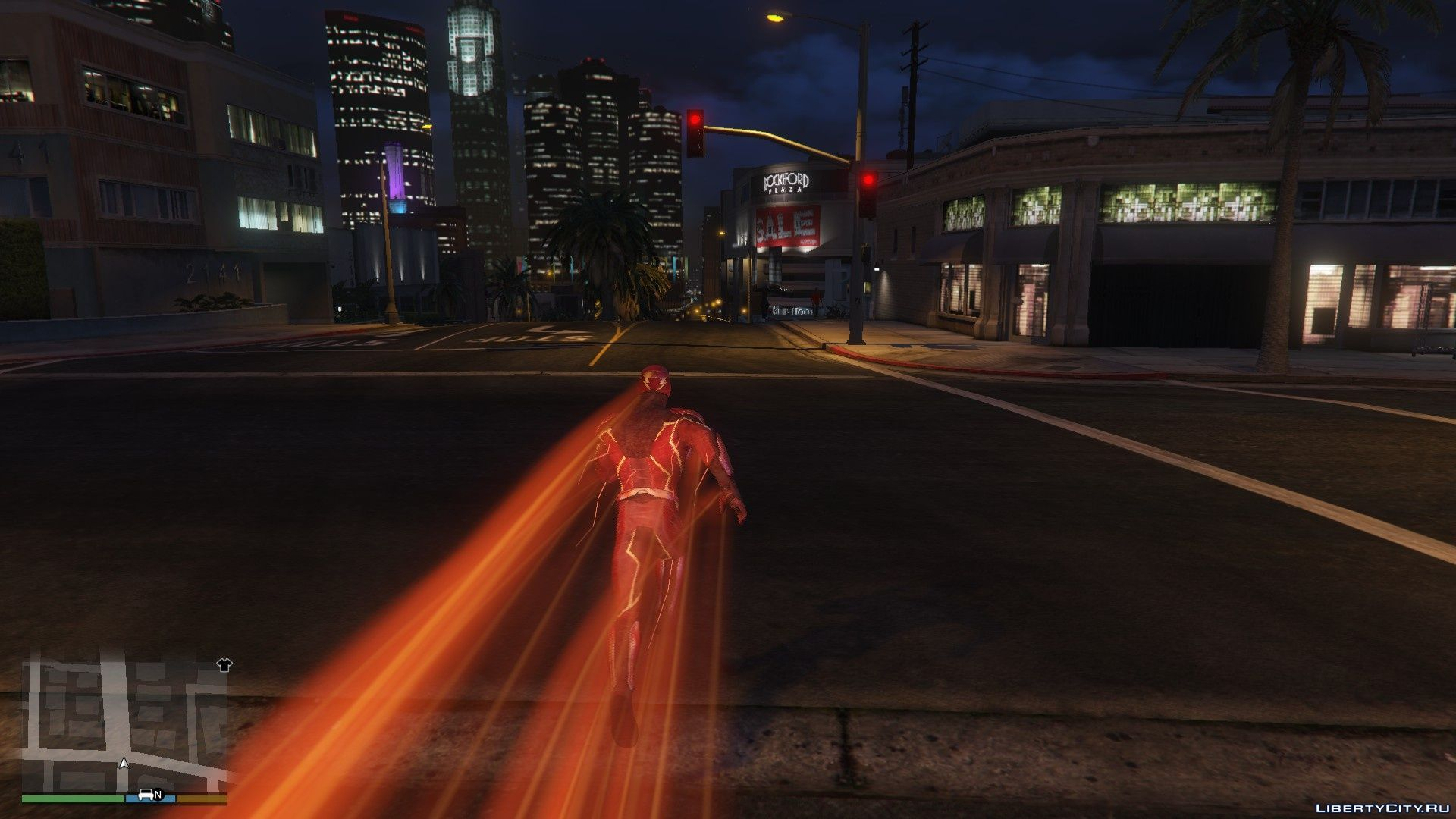 Injustice 2 Mobile Flash [Add-On Ped] 1 0 for GTA 5