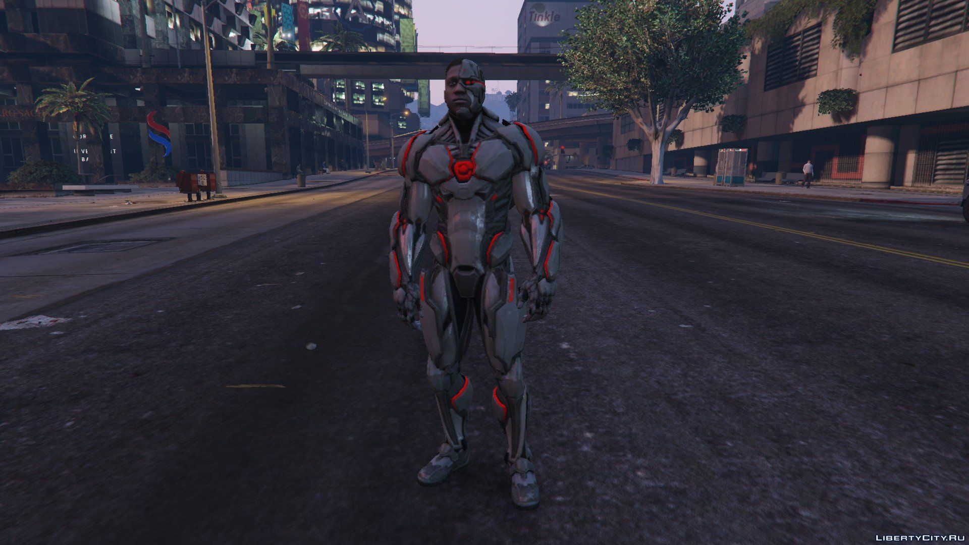 Injustice 2 Mobile Cyborg [Add-On Ped] 1 0 for GTA 5