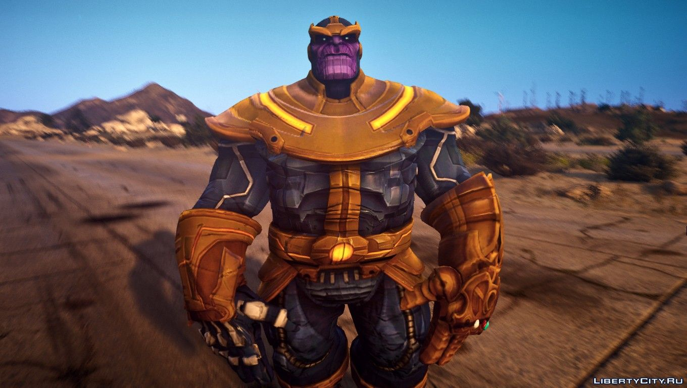 Thanos from Marvel contest of champions for GTA 5