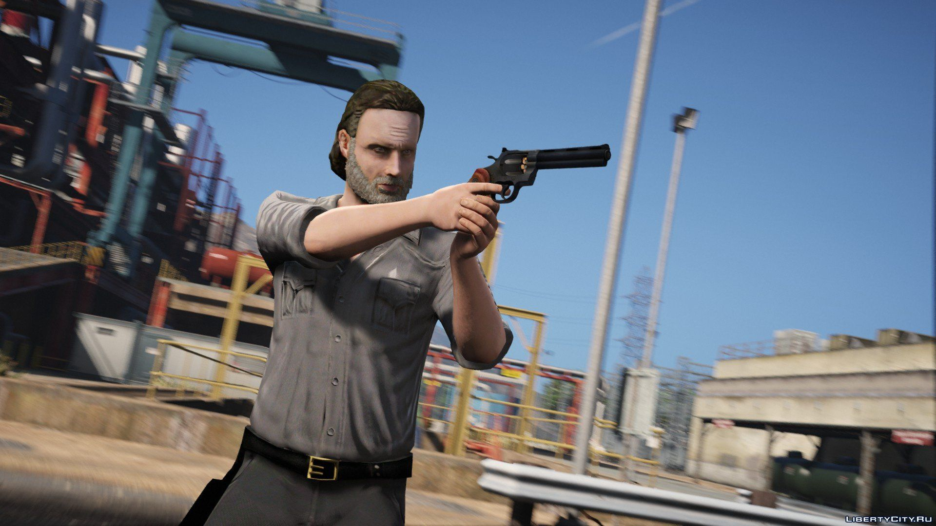 The Walking Dead - Rick Grimes [Ped Model] 6 0 for GTA 5