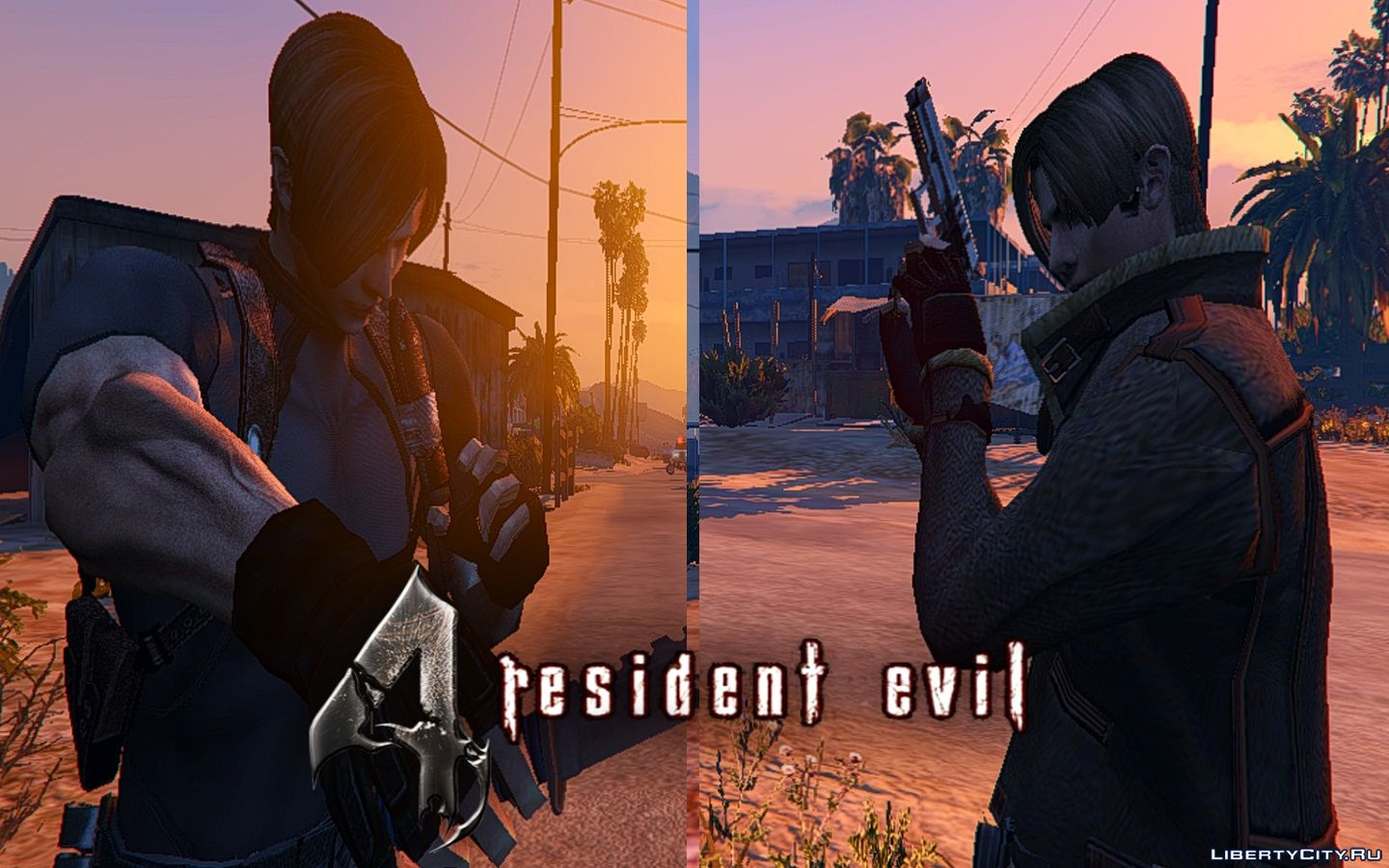 Resident Evil 4 Leon S Kennedy Hd 1 5 For Gta 5