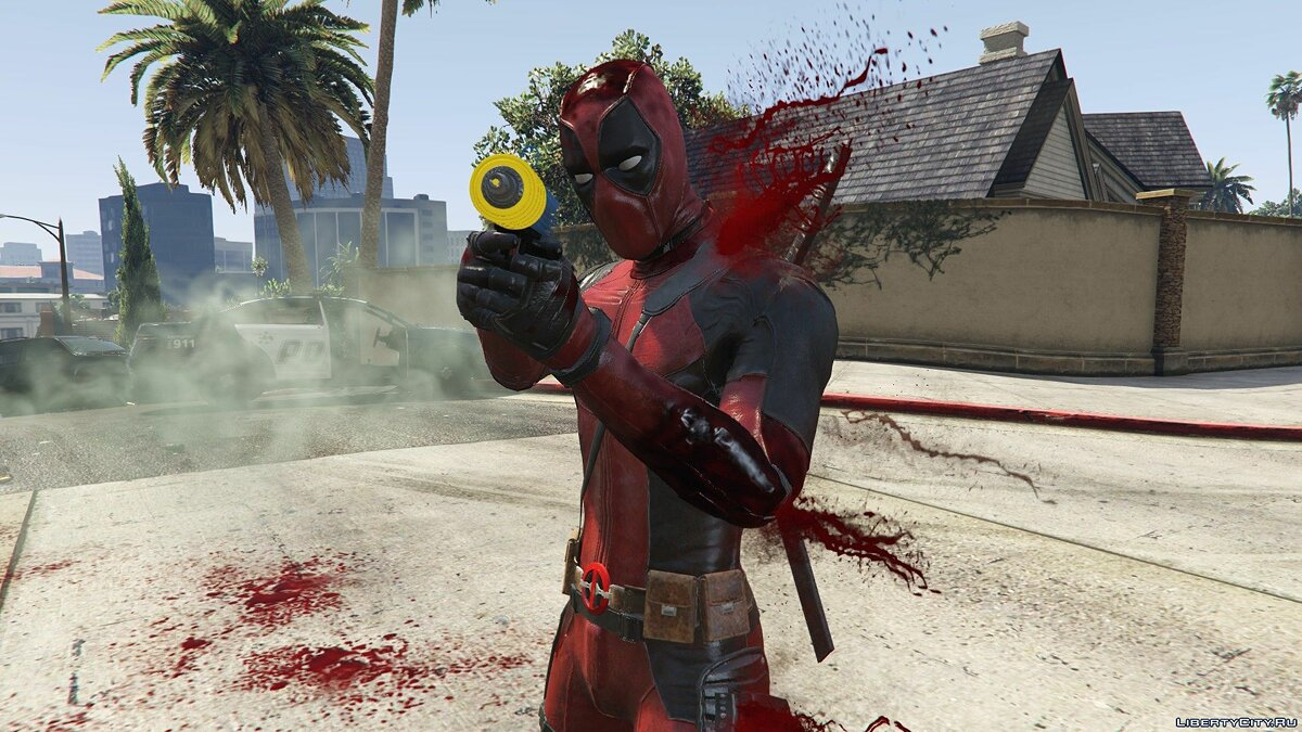 New character Дэдпул [Add-on Ped] for GTA 5