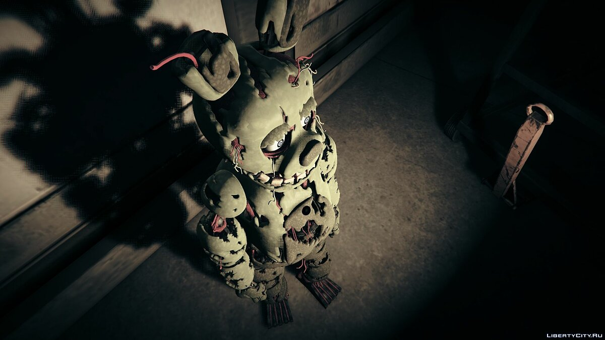 New character (FNAF 3) Springtrap 1.0 - A Springtrap from Five Nights at Freddy's 3 for GTA 5
