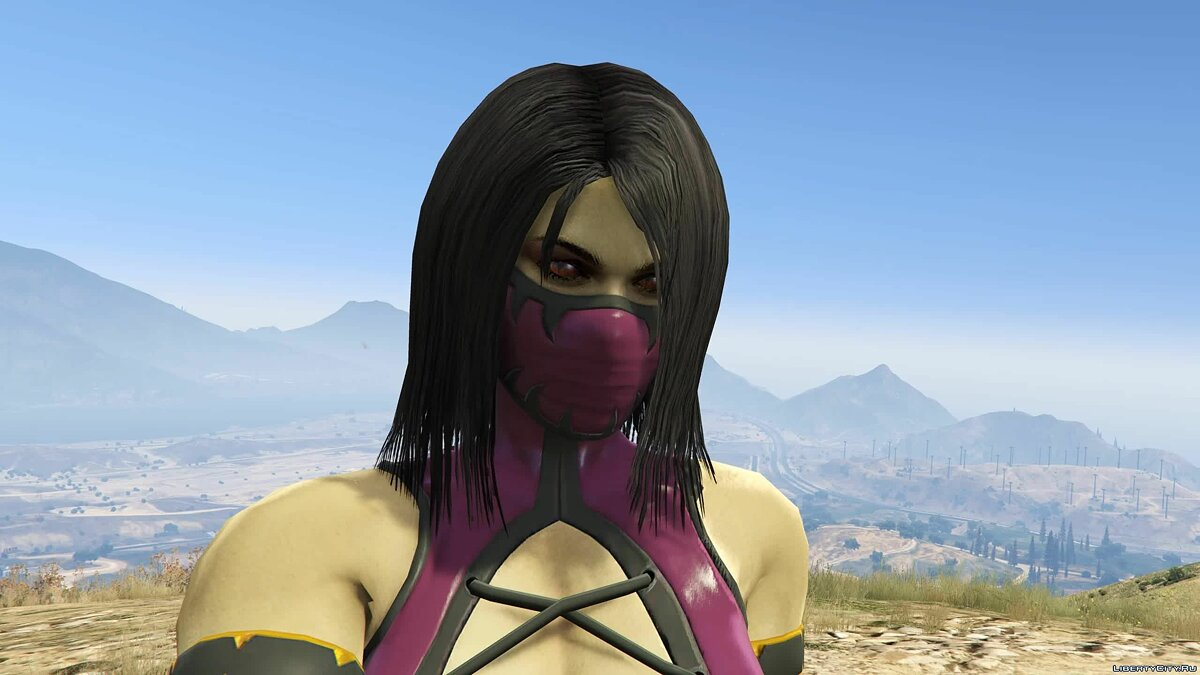 New character Mileena from Mortal Kombat 9 for GTA 5