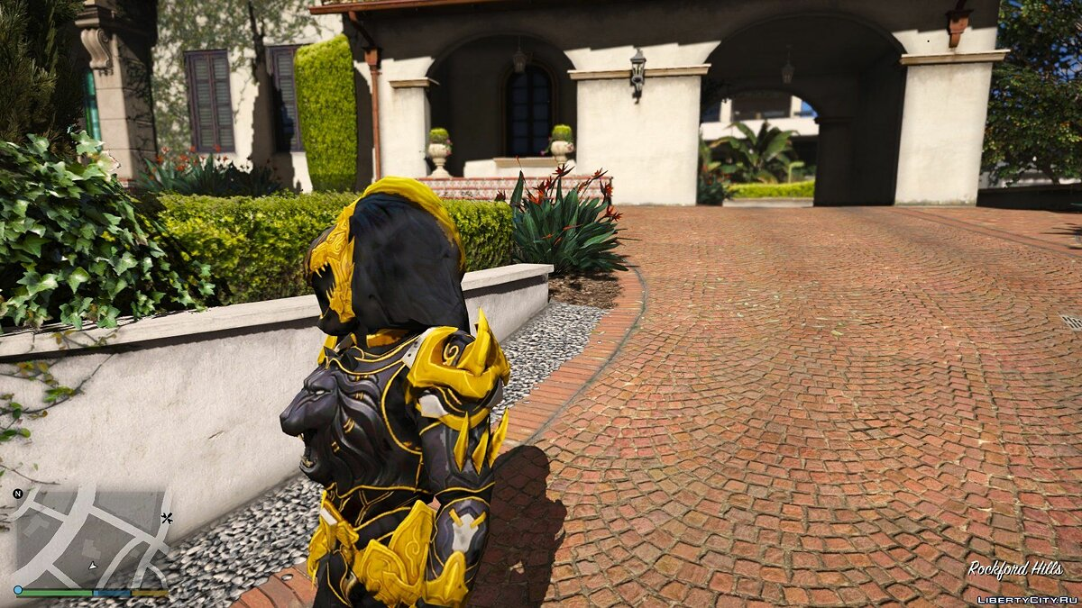 New character DaiShi-Power Rangers Jungle Fury [Add-On | Replace] 1.0 for GTA 5