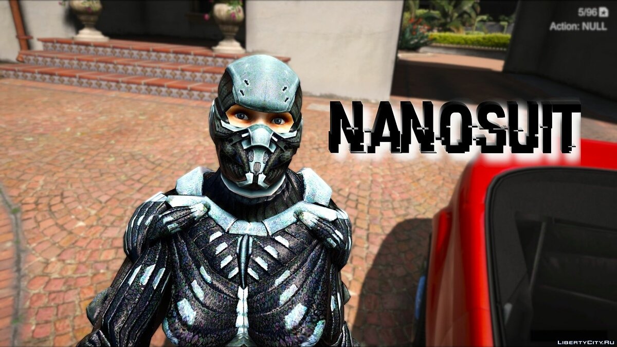 New character Woman Nanosuit form Crysis game for GTA 5